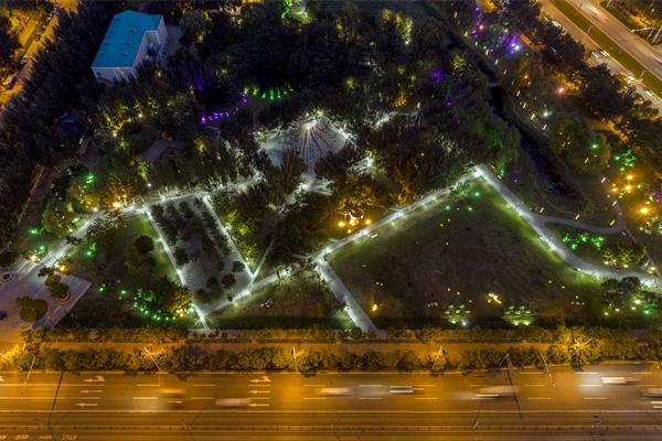 城市园林景观亮化