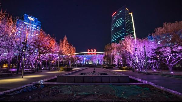 公园夜景亮化设计是烘托氛围重要的手段