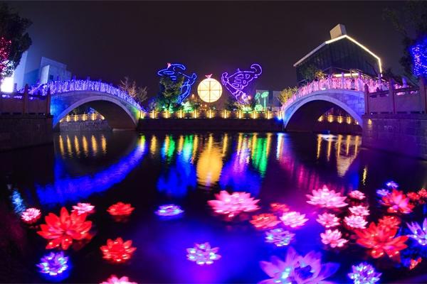 文旅夜游亮化工程对旅游业发展的影响