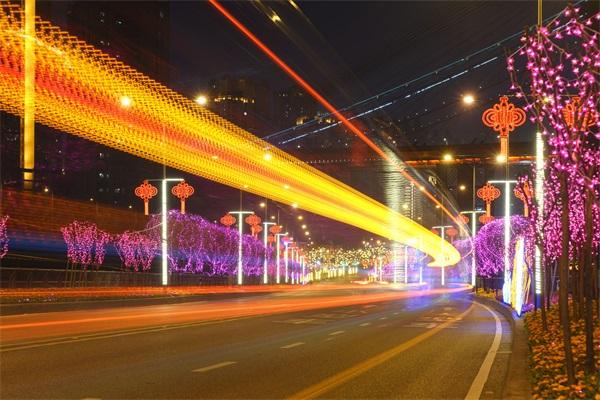 led街道亮化工程