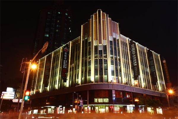 楼体建筑灯光亮化
