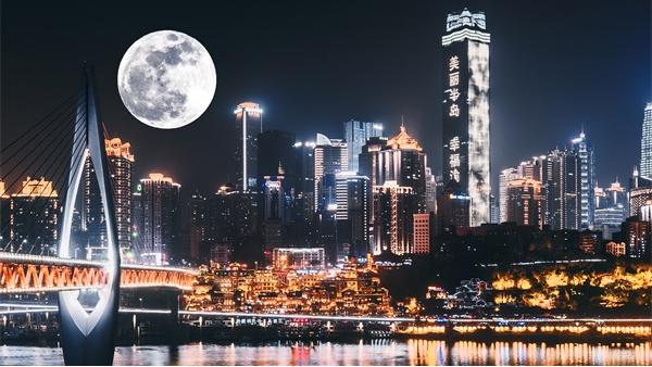 市政灯光亮化工程是城市对外形象的展示