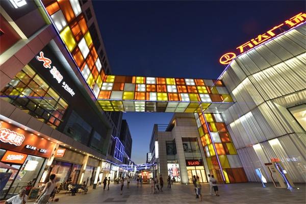购物中心灯光亮化