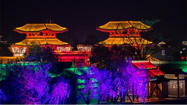 景区夜游照明设计成为文旅新时尚元素