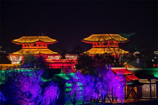 景区夜游照明设计