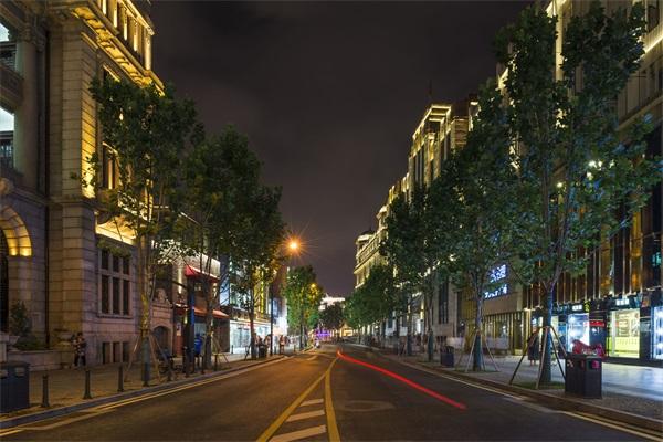 城市夜景灯光亮化
