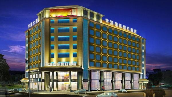 酒店楼体亮化设计使楼体照明富有层次感